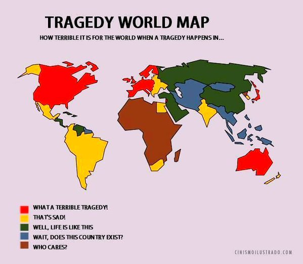 The Tragedy World Map