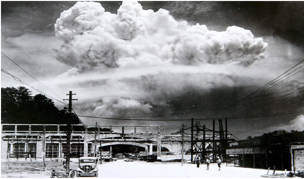 opposition for dropping bombs on japan Fleet admiral leahy, chief of staff to the commander in chief was fiercely  opposed to dropping the atomic bomb on japan featured.