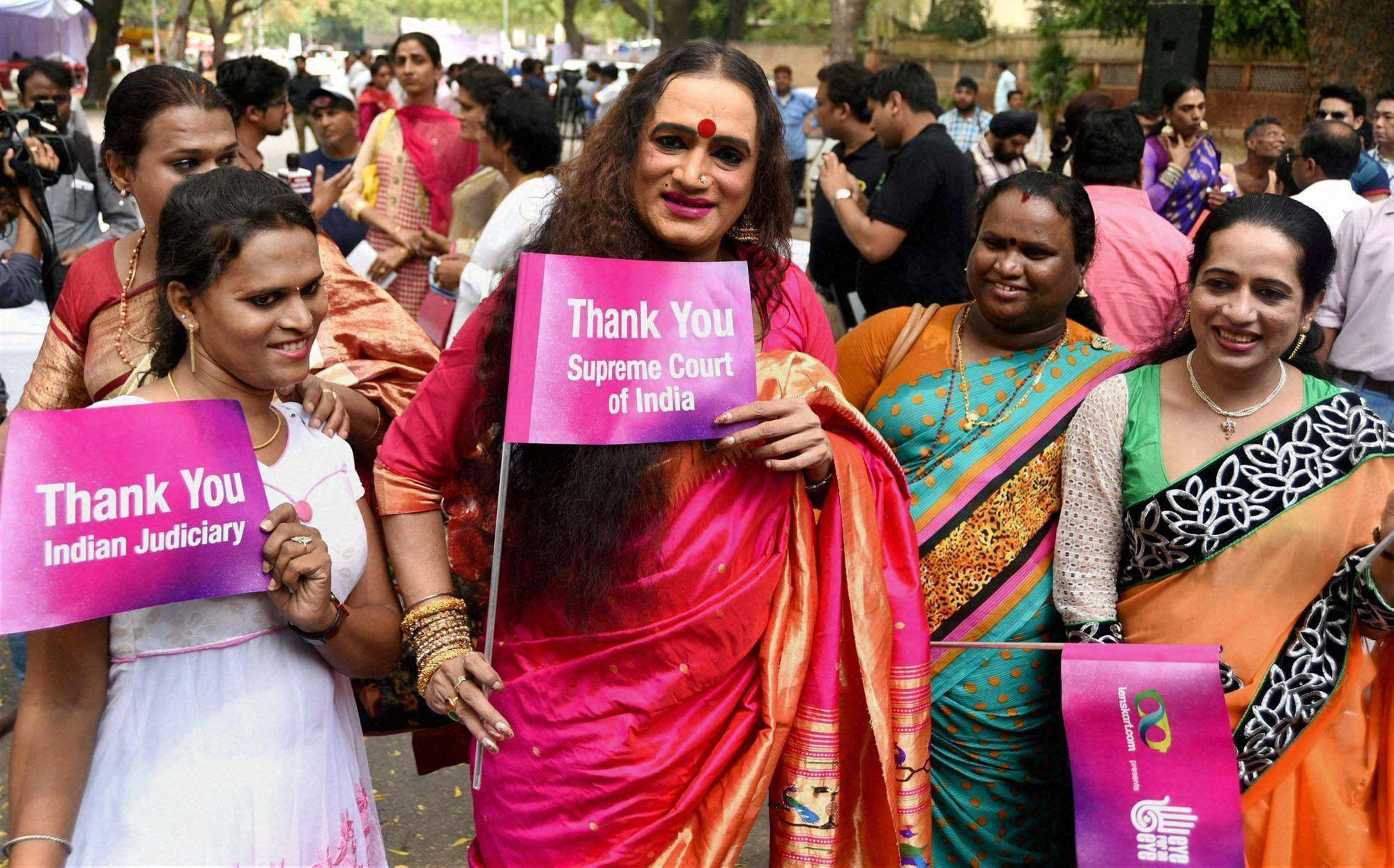 transgender and hijra community The history of the hijra community's stretches back to antiquity but now, with a new supreme court ruling, india's third gender has finally achieved full legal recognition, writes homa khaleeli.