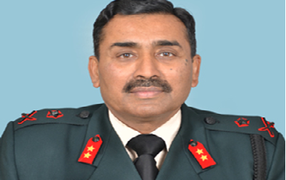 MAJOR GENERAL BHUPESH KUMAR JAIN